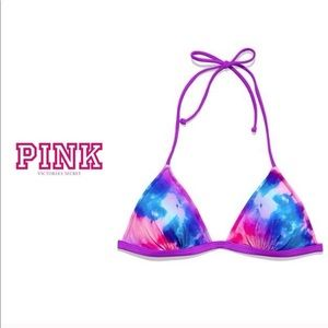Victoria's Secret PINK Triangle halter top